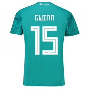 Germany Away Shirt 2018 with Gwinn 15 printing