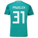 Germany Away Shirt 2018 with Pawollek 31 printing