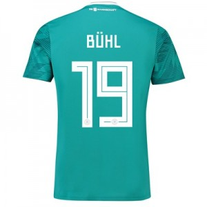 Germany Away Shirt 2018 with Bühl 19 printing