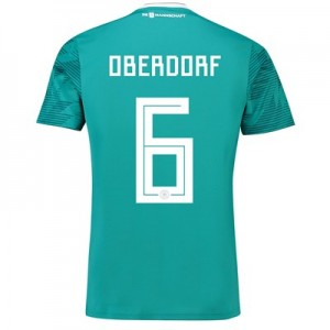 Germany Away Shirt 2018 with Oberdorf 6 printing