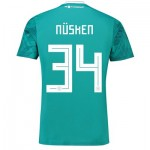 Germany Away Shirt 2018 with Nüsken 34 printing