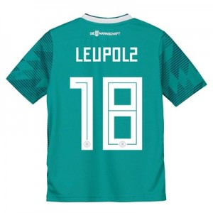 Germany Away Shirt 2018 - Kids with Leupolz 18 printing