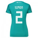 Germany Away Shirt 2018 - Womens with Simon 2 printing