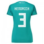 Germany Away Shirt 2018 - Womens with Hendrich 3 printing