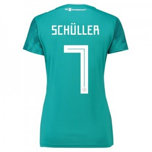 Germany Away Shirt 2018 - Womens with Schüller 7 printing