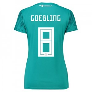 Germany Away Shirt 2018 - Womens with Goeßling 8 printing