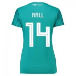 Germany Away Shirt 2018 - Womens with Rall 14 printing