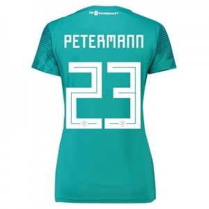 Germany Away Shirt 2018 - Womens with Petermann 23 printing