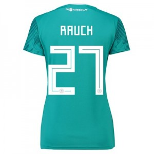 Germany Away Shirt 2018 - Womens with Rauch 27 printing