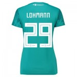 Germany Away Shirt 2018 - Womens with Lohmann 29 printing