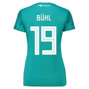 Germany Away Shirt 2018 - Womens with Bühl 19 printing