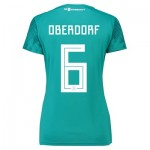 Germany Away Shirt 2018 - Womens with Oberdorf 6 printing