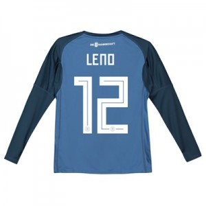 Germany Home Goalkeeper Shirt 2018 - Kids with Leno 22 printing