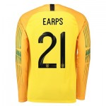 England Goalkeeper Stadium Shirt 2018 with Earps 21 printing