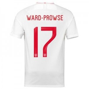 England Home Stadium Shirt 2018 - Men's with Ward-Prowse 17 printing
