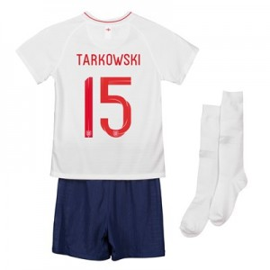 England Home Stadium Kit 2018 - Infants with Tarkowski 15 printing
