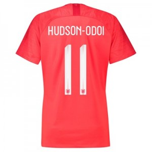 England Away Stadium Shirt 2018 - Womens with Hudson-Odoi 11 printing