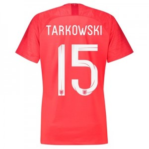 England Away Stadium Shirt 2018 - Womens with Tarkowski 15 printing