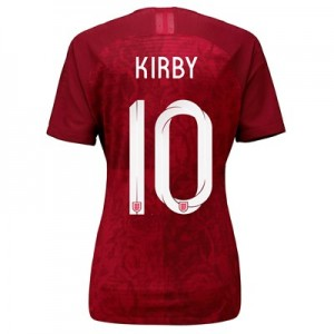 England Away Vapor Match Shirt 2019-20 - Women's with Kirby 10 printing