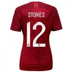 England Away Vapor Match Shirt 2019-20 - Women's with Stokes  12 printing