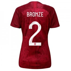 England Away Stadium Shirt 2019-20 - Women's with Bronze 2 printing