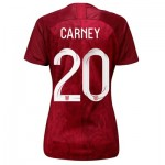England Away Stadium Shirt 2019-20 - Women's with Carney 20 printing