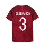 England Away Stadium Shirt 2019-20 - Kids with Greenwood 3 printing