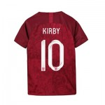England Away Stadium Shirt 2019-20 - Kids with Kirby 10 printing