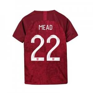 England Away Stadium Shirt 2019-20 - Kids with Mead 22 printing