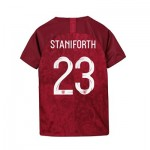 England Away Stadium Shirt 2019-20 - Kids with Staniforth 23 printing