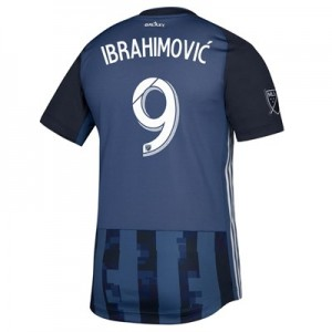 LA Galaxy Secondary Authentic Shirt 2019 with Ibrahimovic  9 printing