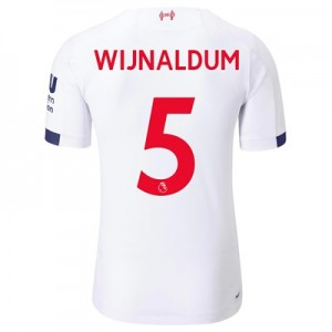 Liverpool Away Elite Shirt 2019-20 with Wijnaldum 5 printing