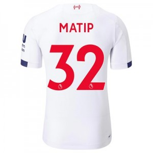 Liverpool Away Elite Shirt 2019-20 with Matip 32 printing