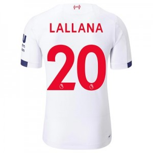 Liverpool Away Elite Shirt 2019-20 with Lallana 20 printing