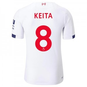 Liverpool Away Elite Shirt 2019-20 with Keita  8 printing