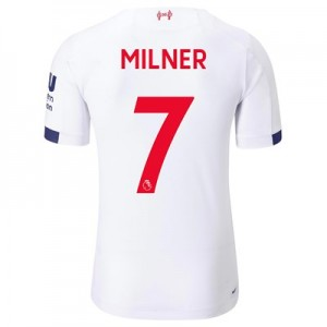 Liverpool Away Elite Shirt 2019-20 with Milner 7 printing