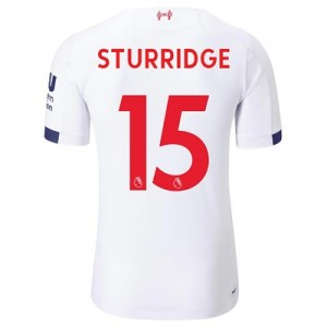 Liverpool Away Elite Shirt 2019-20 with Sturridge 15 printing