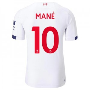 Liverpool Away Elite Shirt 2019-20 with Mané 10 printing