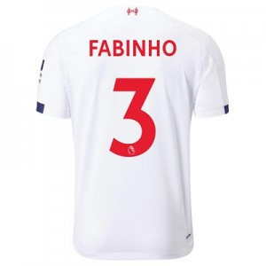 Liverpool Away Shirt 2019-20 with Fabinho 3 printing