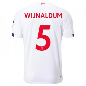 Liverpool Away Shirt 2019-20 with Wijnaldum 5 printing