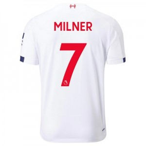 Liverpool Away Shirt 2019-20 with Milner 7 printing