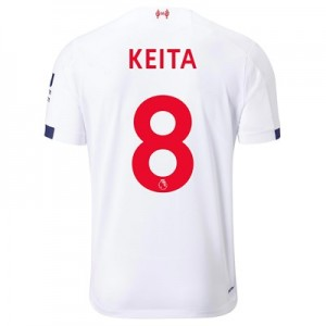 Liverpool Away Shirt 2019-20 with Keita  8 printing