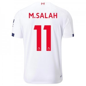 Liverpool Away Shirt 2019-20 with M.Salah 11 printing