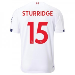 Liverpool Away Shirt 2019-20 with Sturridge 15 printing