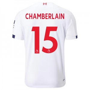 Liverpool Away Shirt 2019-20 with Chamberlain 15 printing