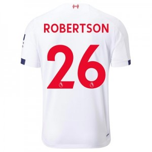 Liverpool Away Shirt 2019-20 with Robertson 26 printing
