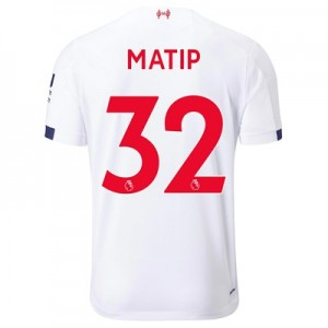 Liverpool Away Shirt 2019-20 with Matip 32 printing