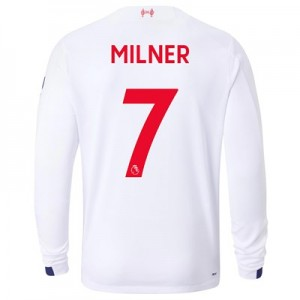 Liverpool Away Shirt 2019-20 - Long Sleeve with Milner 7 printing