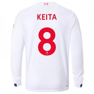 Liverpool Away Shirt 2019-20 - Long Sleeve with Keita  8 printing