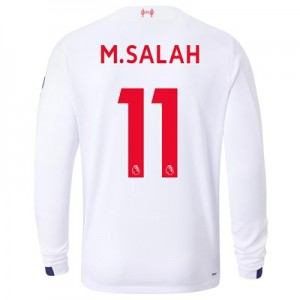 Liverpool Away Shirt 2019-20 - Long Sleeve with M.Salah 11 printing